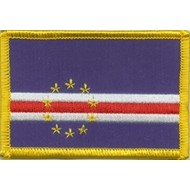 Patch Kaapverdie vlag patch