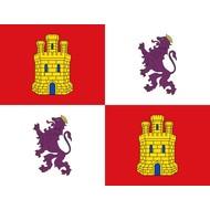 Vlag Castile en Leon regiovlag