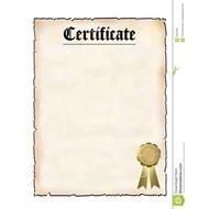 Accessoires Certificaat Impregneren