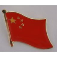 Speldje China vlag