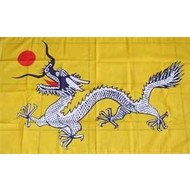 Vlag Chinese Dragon