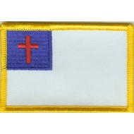 Patch Christen vlag patch