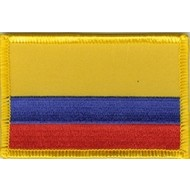 Patch Colombia Colombiaanse vlag patch