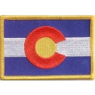 Patch Colorado state flag patch