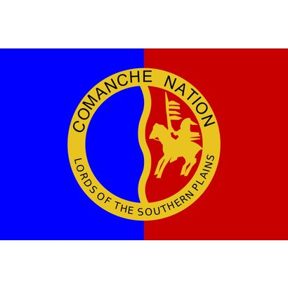 Vlag Comanche Indian vlag