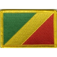 Patch Congo Brazzaville vlag patch