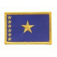 Patch Congo Kinshasa vlag DR 1997 -  2006 vlag patch