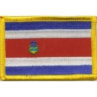 Patch Costa Rica vlag