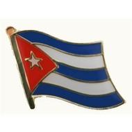 Speldje Cuba flag lapel pin