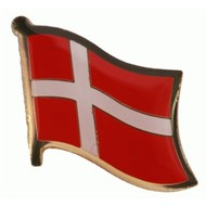 Speldje Denmark flag lapel pin