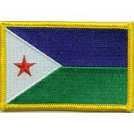 Patch Djibouti vlag patch