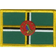 Patch Dominica flag patch