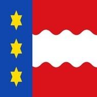 Vlag Dongeradeel Gemeente