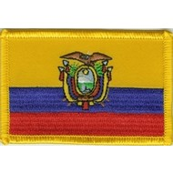 Patch Ecuador vlag patch