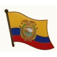 Speldje Ecuador flag lapel pin