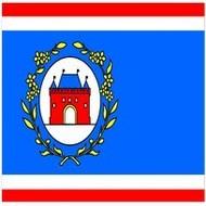 Vlag Elburg Borough flag