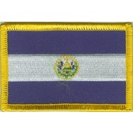 Patch El Salvador flag patch