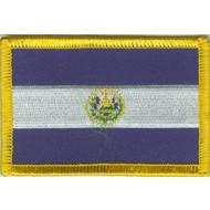 Patch El Salvador vlag