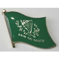 Speldje Erin Go Bragh flag lapel pin