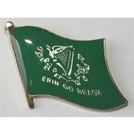 Speldje Erin Go Bragh flag pin speldje