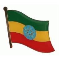 Speldje Ethiopia flag lapel pin