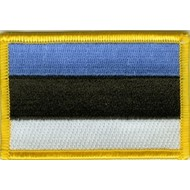 Patch Estland Estonia vlag patch