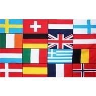 Vlag Europa 16 landen