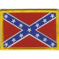 Patch Confederate Rebel vlag patch