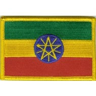 Patch Ethiopia vlag patch