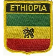 Patch Ethiopia Old flag badge