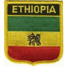 Patch Ethiopia oud vlag badge