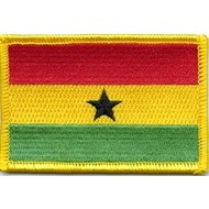 Patch Ghana vlag patch