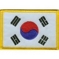 Patch Korea Zuid vlag patch