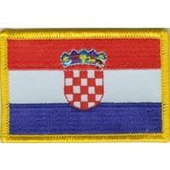 Patch Kroatie Kroatia vlag patch