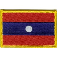 Patch Laos vlag patch