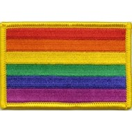 Patch Regenboog Rainbow vlag patch
