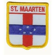 Patch Sint Maarten Antillen vlag