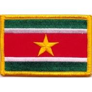 Patch Suriname vlag patch