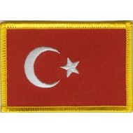 Patch Turkey flag patch