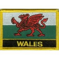 Patch Wales vlag patch