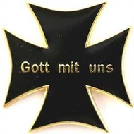 Speldje Gott mit uns vlag speldje