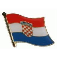 Speldje Kroatie Croatia vlag speldje
