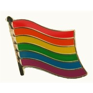 Speldje Regenboog vlag speldje