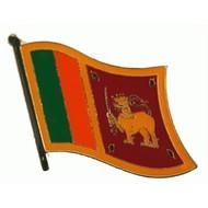 Speldje Sri Lanka vlag Pin