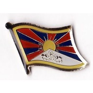 Speldje Tibet vlag speldje