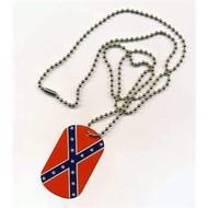 Dog Tag Confederates Vlag Dogtag
