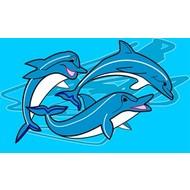 Vlag Dolfijn Dolphin vlag