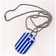Dog Tag Greece flag Dog tag