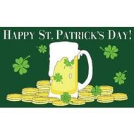 Vlag Happy St. Patricks Day flag