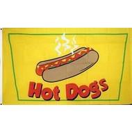 Vlag Hot Dogs vlag